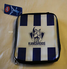 North Melbourne Kangaroos AFL Printed Insulated Lunch Box Cooler Bag New