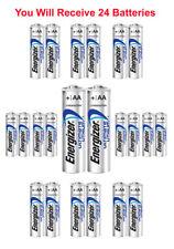 24x Energlzer AA Lithium Batteries Ultimate L91 Exp:2038 USA Wholesale Lot