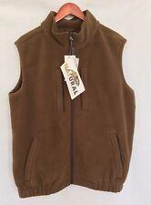 Natural Gear Brown Solid Vest
