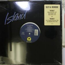"R&B/Soul Sealed 12"" Lp Sly & Robbie Rebel On Island"