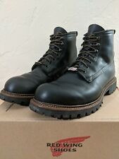 used RED WING SHOES heritage ICE CUTTER #2930 black 9.5 D made in usa insulated