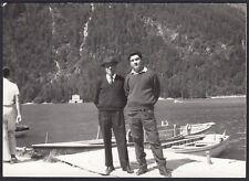 YZ1134 Italia - Luogo da identificare - Dolomiti - Lago - Foto - 1959 old photo