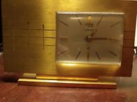 Vintage LeCoultre Clock. Calendar and 8 day extremely rare