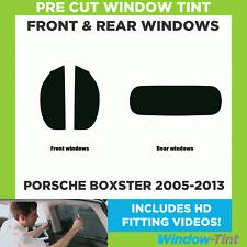 Pre Cut Window Tint - Porsche Boxster 2005-2013 - Full Kit