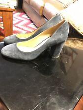 mk high heels Leather Blue Size7