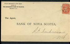 SACKVILLE, N.B. MR 19 97 split ring   -- Small Queen cover Canada