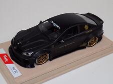1/18 Mercedes Benz CLK C63 AMG Liberty Walk LB Performance matt black / gold