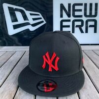 "New Era New York Yankees Snapback  All Black/Red ""27 World Series Side Patch MLB"
