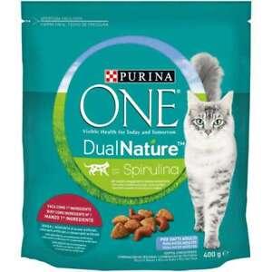 Treats Cat Purina One Dual Nat Adult Beef GR.400