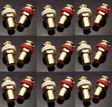 NEW CMC 816-U Gold Plated Female RCA Jack Socket Connector 18PCS