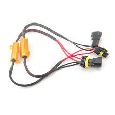 9006 HB4 LED Headlight Bulbs No Error Load Resistor No Flickering Decoder 2x