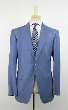 New PAL ZILERI SARTORIALE Blue Wool Blend Sport Coat Size 52/42 R Drop 7 $2195