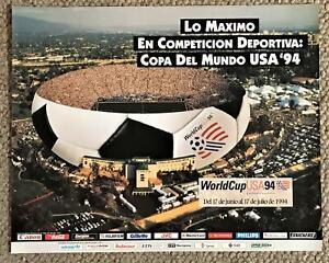 1994 World Cup Soccer Poster Fútbol Spanish Español