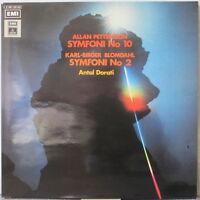 ALLAN PETTERSSON / KARL-BIRGER BLOMDAHL Symphony 10 / Sym. 2 LP Antal Dorati