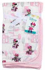 Disney Baby Minnie Mouse Printed Mink/Sherpa Blanket