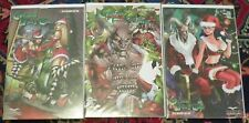 NOW REDUCED! ZENESCOPE COMICS GRIMM FAIRY TALES 2012 HOLIDAY EDITION A B C COVER
