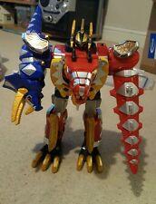POWER Rangers Dino Thunder Deluxe thundersaurus Megazord COMPLETO!