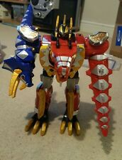 Power Rangers Dino Trueno Deluxe Thundersaurus Megazord Completa!