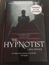 The Hypnotist UK HB 1/1 quadruple signed by Lars Kepler 2011 Fine with fine DJ