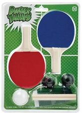 Desktop Tennis Table Top Ping Pong Office Party Game Boredom Wimbledon IS W3925