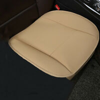 Universal PU Leather Car Seat Cover Breathable Front Seat Cushion Mat Protector