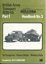 BELLONA British Army Transport 1939-45 Part 1 Tank Transporter Trucks Recovery