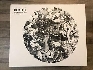 Wacom Sketchpad Pro - Black - Creative Pen Sketch Pad - Brand NEW Sealed Box