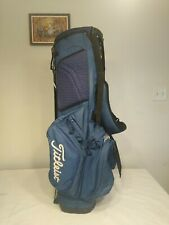 Titleist Stand Golf Bag Blue 3 Dividers