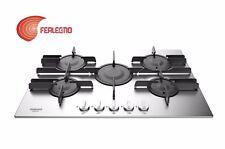 PIANO COTTURA A GAS INOX 75CM COMANDI FRONTALI 5FUOCHI FTGHL751DIX HOTPOINT