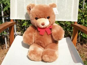 "RARE-VINTAGE GUND- BROWN TENDER TEDDY BEAR-XL-20""- #2133-1983-VERY NICE-ALL TAGS"