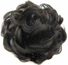 Fashion Womens Girls Messy Hair Scrunchie Natural Easy Bun Hair Piece New@LED5