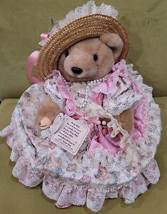 Vintage 1991 Bearly People Paisley Palace Collectible Bear Plush NWT VB544