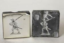 Gußform für Zinnfiguren/ Zinnbrigade 17   Soldat   (114963)