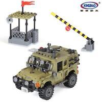 Bausteine XINGBAO Ostern 497Pcs Militärische Serie Geländewagen Spielzeug Modell