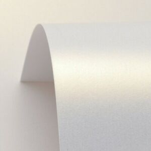DALTON MANOR PEARLESCENT CARD 250GSM CHINA WHITE - 10 SHEET PACK   S8