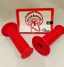 OLD SCHOOL BMX ODI MUSHROOM GRIPS RED