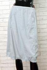 Gonna PRADA Donna Taglia 40 Woman Pants Skirt Cotone Vita Alta PARI AL NUOVO