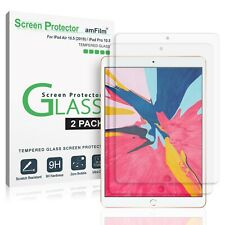 amFilm Tempered Glass Screen Protector for iPad Air 10.5 / Pro 10.5 (2 Pack)
