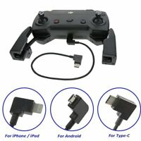 USB to Type-C / Android / iphone Cable for DJI Spark Mavic Pro Remote Controller