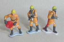 Los Bomberos/Fire Crew Figuras X 3 para Scalextric Airfix Ninco SCX FLY y más 1.32