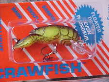 Rebel Ultra Lite Size Crawfish Lure for Bass/Panfish F7767 in CHARTREUSE/BROWN
