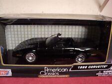 Motormax 1986 Chevrolet Corvette convertible   1/24 scale nib