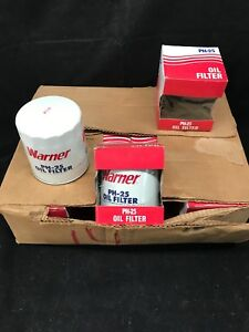 New Old Stock Case Of 12 Warner PH-25 Oil Filters Buick Chevy Pontiac Oldsmobile