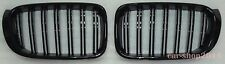 Front Grille M-Tech Style Glossy Black For BMW F25 LCI X3 F26 X4 2014-2015