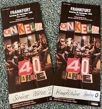 Onkelz Tickets Frankfurt