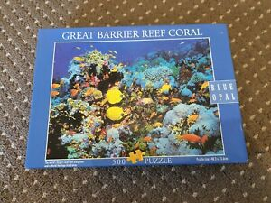 BLUE OPAL - GREAT BARRIER REEF CORAL - 500 PIECES - Jigsaw PUZZLE *RARE*