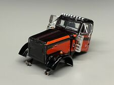 1/64 DCP PARTS BLACK/RED PETERBILT 379 DAY CAB