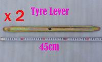 2pcs 45cm Universal Tyre Tire Lever Tool Pit Dirt Bike Honda Kawasaki Motorcycle