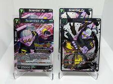 Scientist Fu Collection Judge FOIL Championship Dragon Ball Super Card Game Rare
