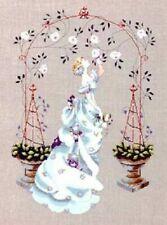 Rose Arbour Mirabilia Counted Cross Stitch Pattern Nora Corbett Chart 48